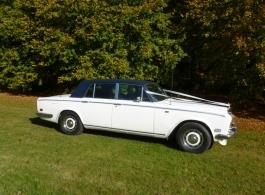 Rolls Royce Silver Shadow for weddings in Brighton